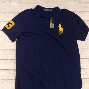 Ralph Lauren big emblem polo shirt custom fit